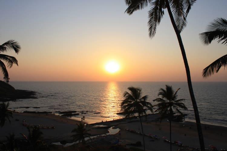 Beach Vacation In Goa