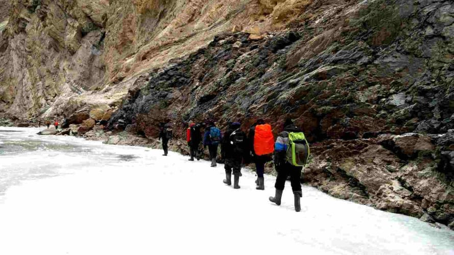 Chadar- The Frozen River Trek - 2019