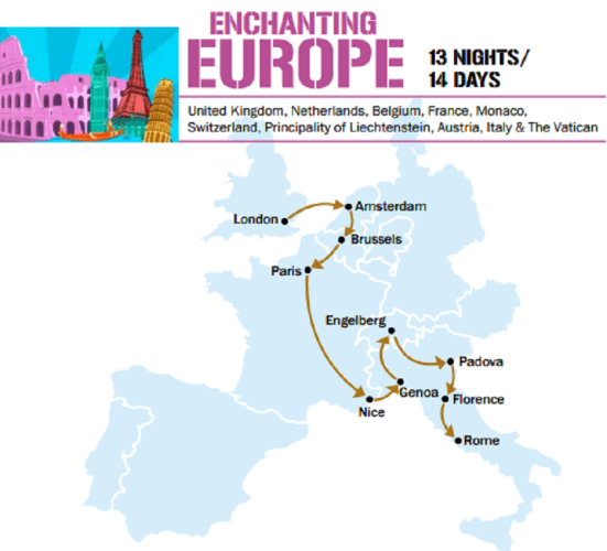 Enchanting Europe with Cruise - All Inclusive!