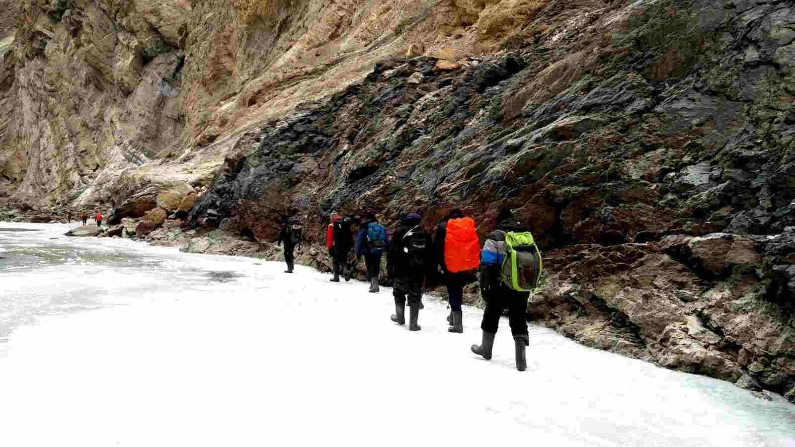 Chadar- The Frozen River Trek - 2019