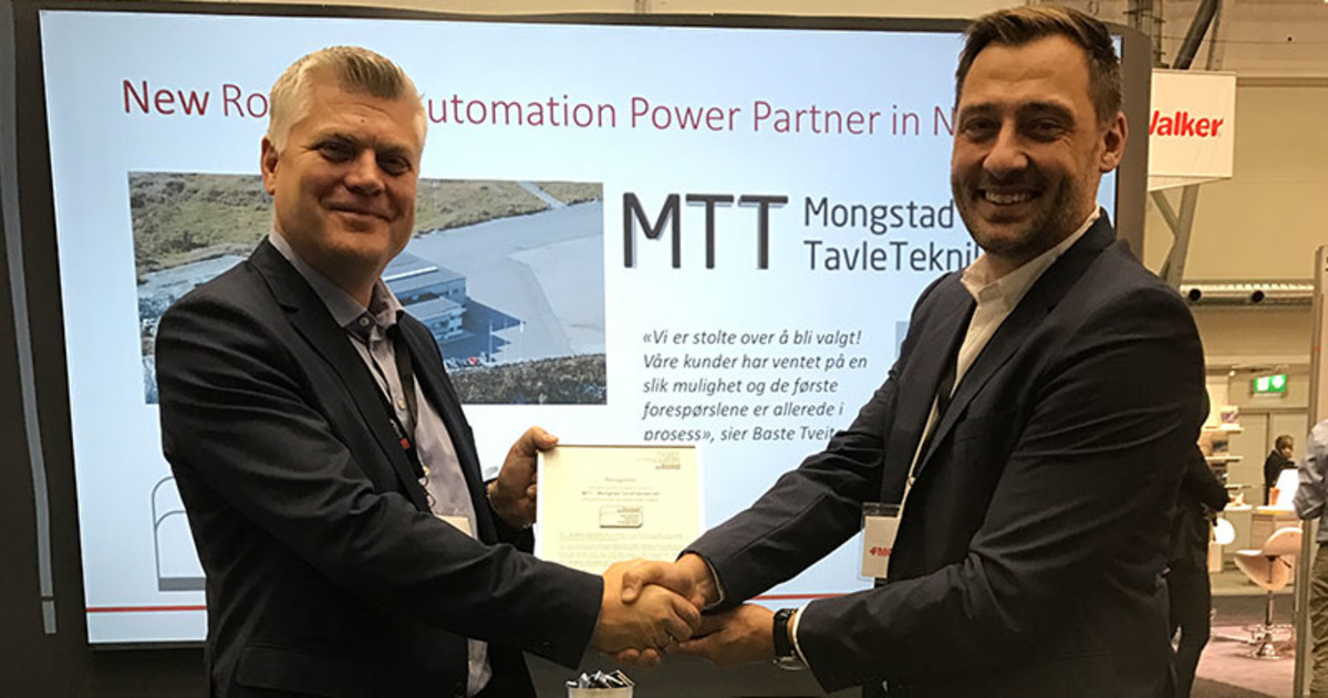 Mongstad Tavleteknikk er ny Power Partner til Rockwell Automation