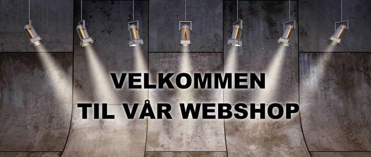 Velkommen til vår webshop