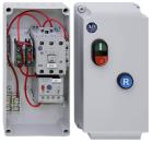 Kapslet starter IP66 30A, 9-45 A m/betj. 24VDC stryresp.