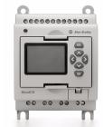 Micro810 PLC 12..24VDC, 8DI (4 combo 0-10V AI), 4DO, trans.