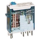 RELE 8A 2 VEKSEL 24VDC TEST+LED
