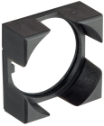 800B 16 mm Push-Button Square Bezel