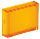 800B 16 mm Push-Button Yellow Lens Cap