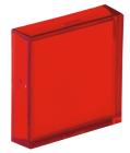 800B 16 mm Push-Button Red Lens Cap
