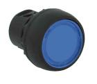 Lystrykk varig kontakt blå
