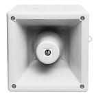 Horn 10-tone 100dB m/rød xenon blits 24VDC