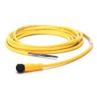 M12 kabel rett, 3 meter