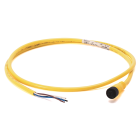 M12 kabel rett, 5 meter