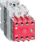 SIKKERH.KONT. 4KW-400V.24VDC LAVEFFEKT,2NO+3NC