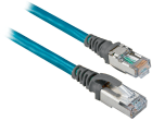 Ethernet RJ45 Patchcord,STR+90DEG Right Angle 3M