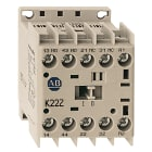 Styrekontaktor 2+2 24VDC spole m/diode