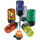 Varsellys grønn 120mm blinklys 24VAC/DC