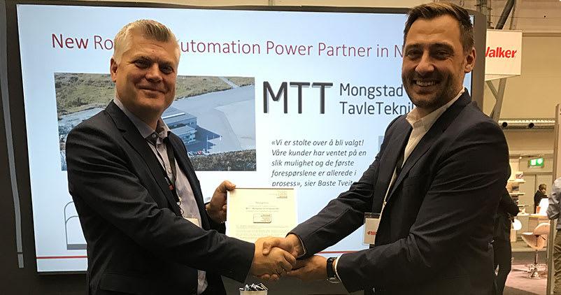Mongstad Tavleteknikk er ny Power Partner til Rockwell Automation