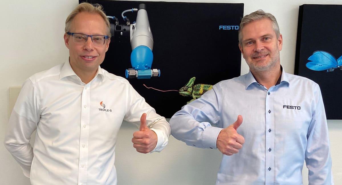 Festo og Triple-S inngår samarbeid