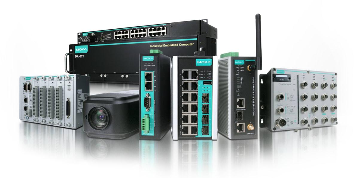 Triple-S tilbyr nå industrielle nettverksløsninger fra Moxa