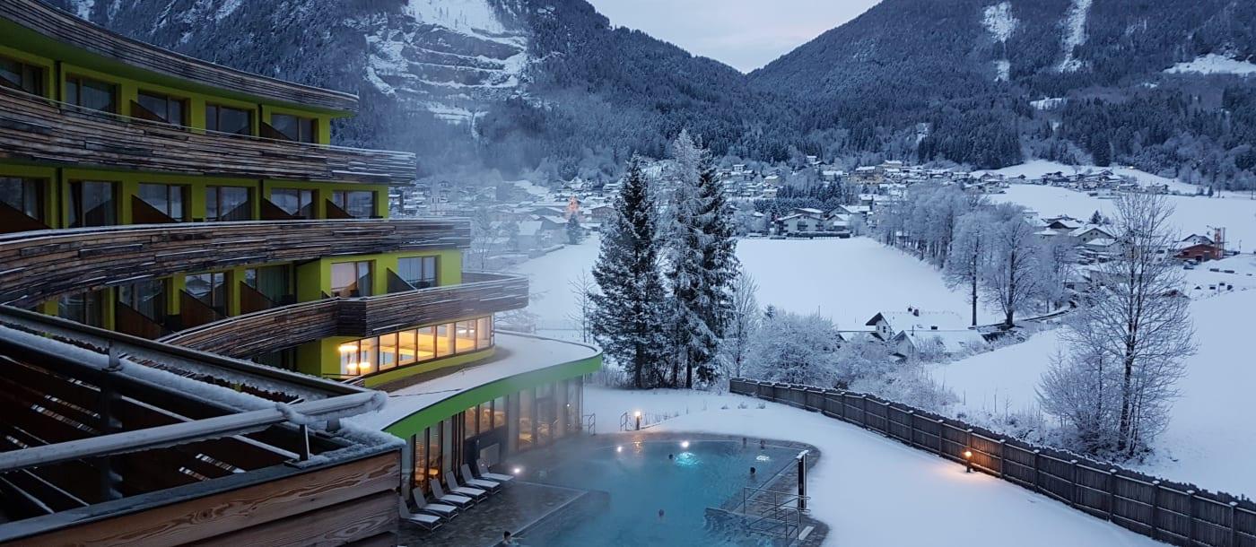 5 מלונות ספא הטובים באוסטריה