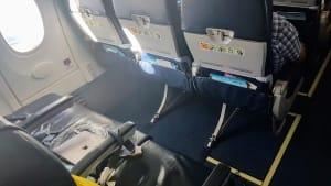 מושבי יציאת חירום במטוס 737 של UIA