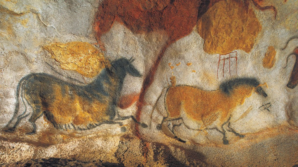 מערות לאסקו Grotte de Lascaux II