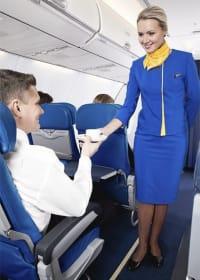 רמת השירות והארוחות בטיסות של UIA