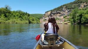 שייט בנהר הדורדון שבדרום צרפת