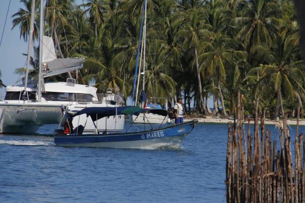 Traslado en Lancha Carti - Isla Perro