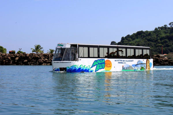 City Tour en Aquabus el Bus Acuático en Panama