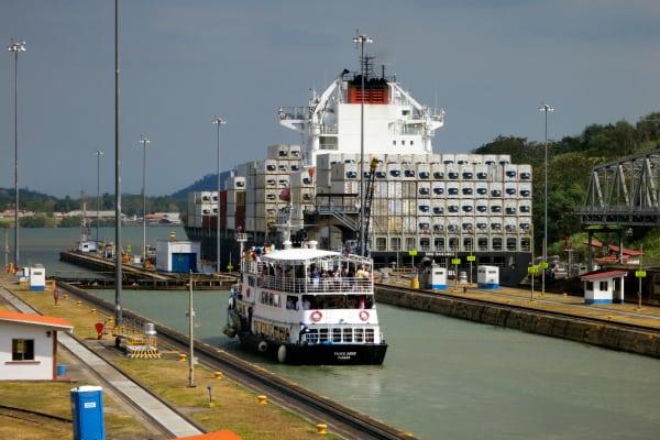 Tour por el Canal de Panama - Tránsito parcial (Tour de medio día)