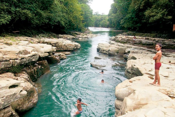 Visita el Cañón Gualaca: Los Cangilones con guia.