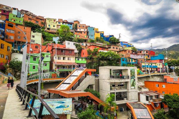 Visita guiada a la Comuna 13 y el Barrio Pablo Escobar en Medellín