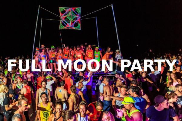 Full moon party Panamá entrada con trago de bienvenida