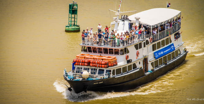 Tour por el Canal de Panamá - Tránsito Completo