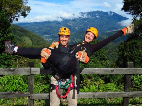 Tour de Canopy en Boquete Tree Trek