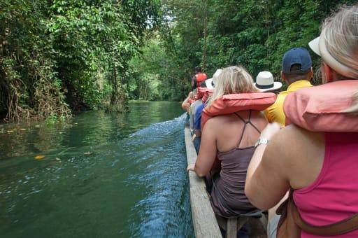 Tour a Isla Monos, Indian Village y  lago Gatún