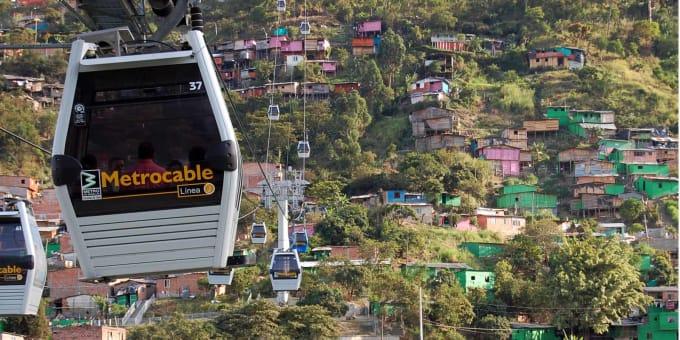 Conoce el Metro Cable y Parque Explora en Medellín