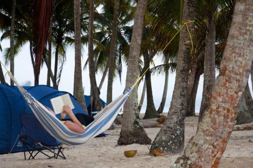 Dos días y una noche Acampando en Isla Bambú (Masargandub)