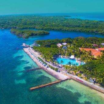 Tour a Islas del Rosario, Cholon, Agua Azul y Playa Tranquila