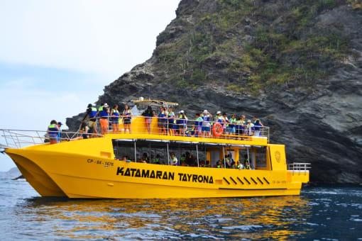 Tour Bahías de Santa Marta y Katamaran Tayrona