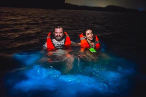 Playa Blanca Barú vía terrestre, caminata submarina y plancton.