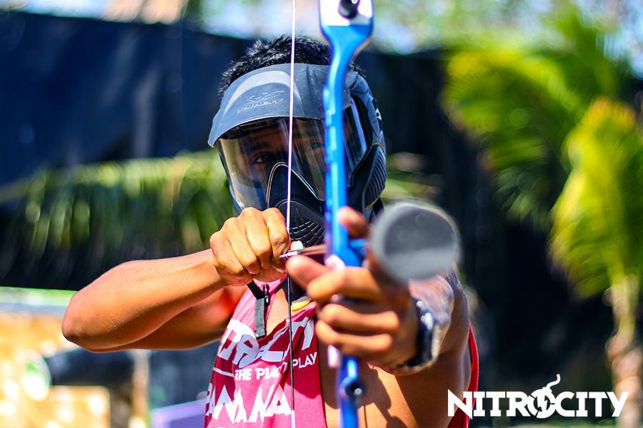 Pasadía en Nitrocity con Paintball y Tiro con Arco