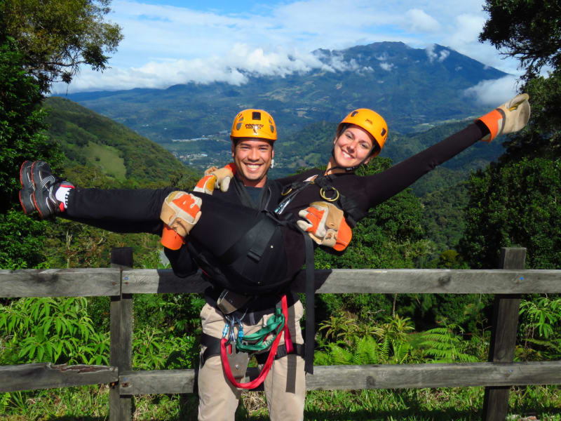 Tour de Canopy en Boquete Tree Trek