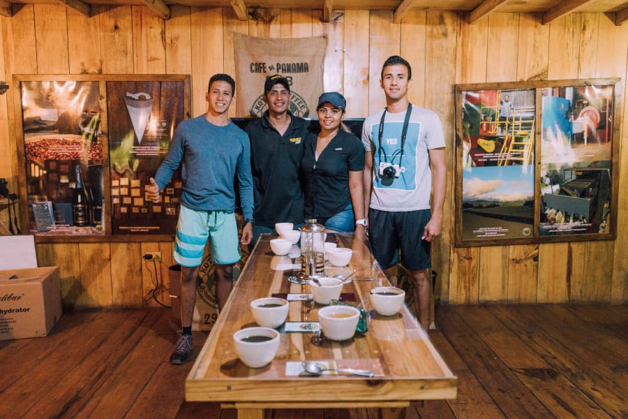 Tour de Café a la Finca Río Cristal en Boquete