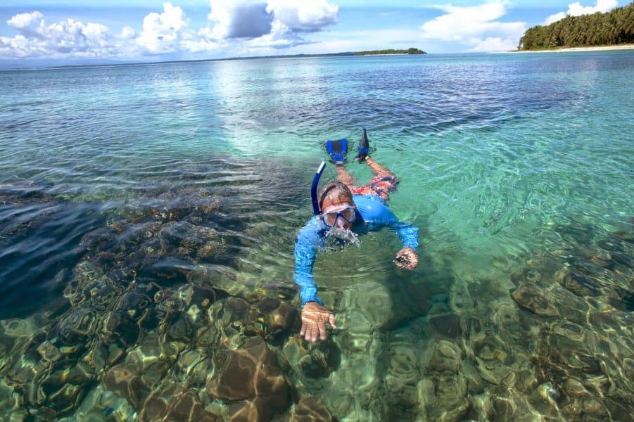 Pasadia a  Isla Pájaros y Playa estrella en Bocas del Toro