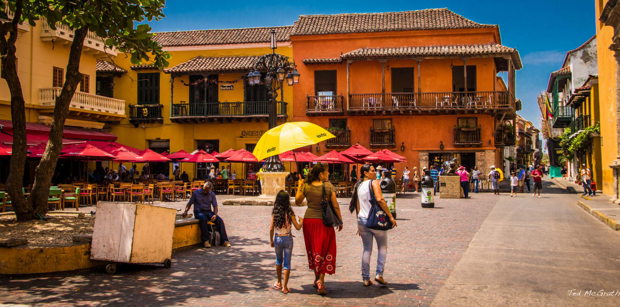 Tour a pie en Cartagena