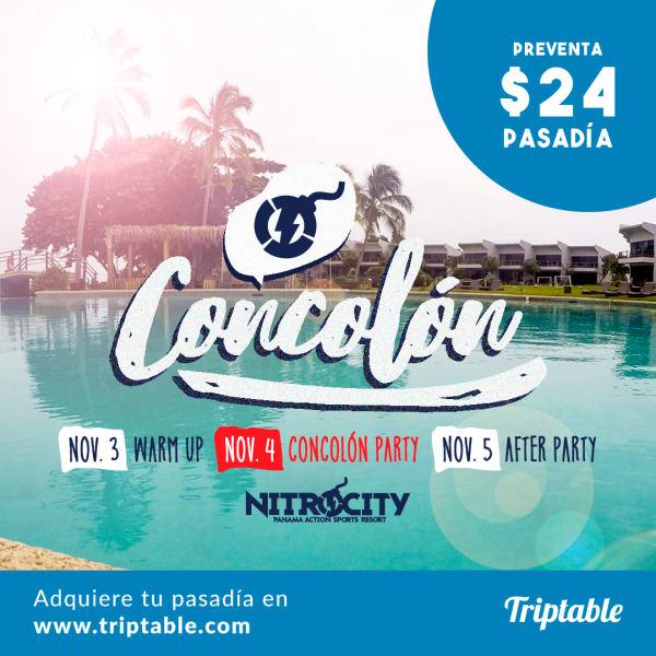 Concolón Party en Nitrocity el 4 de Noviembre