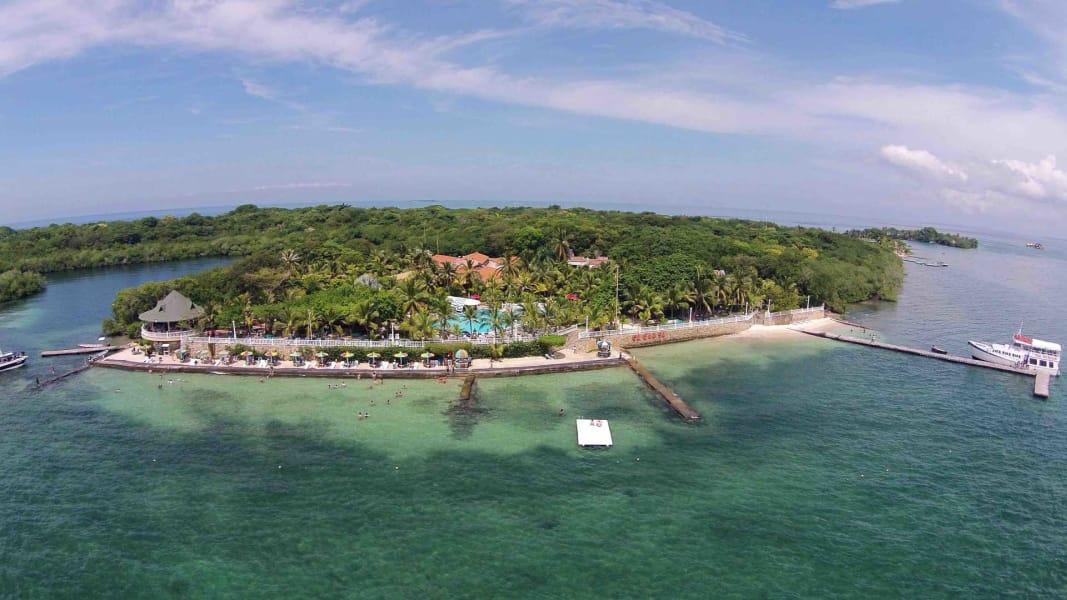 Pasadia a las islas del Rosario en Isla Cocoliso con almuerzo