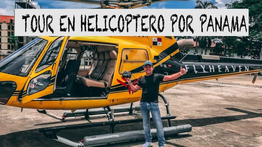 Tour en Helicoptero en Ciudad de Panama